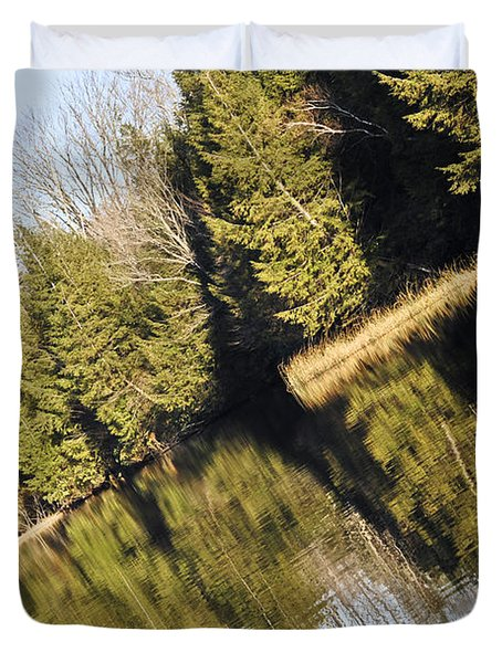 Bronson's Pond Duvet Cover