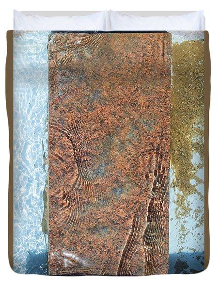 Brook Stone Duvet Cover