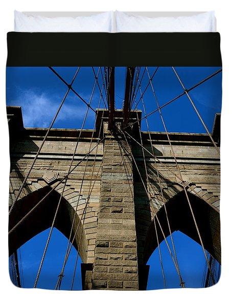 Brooklyn Bridge Ny Duvet Cover