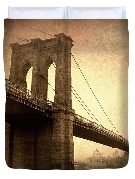 Brooklyn Nostalgia II Duvet Cover