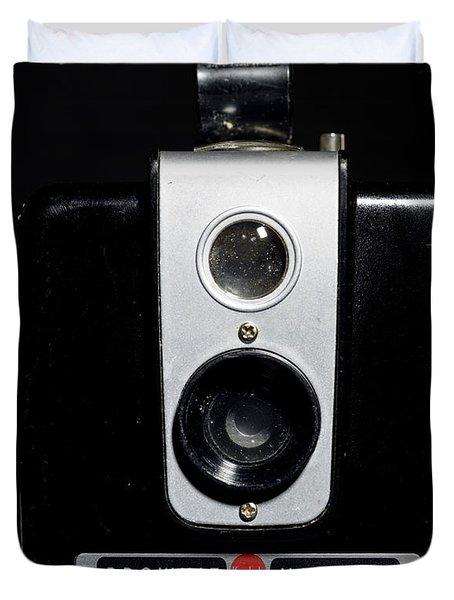 Brownie Hawkeye Flash Camera Duvet Cover
