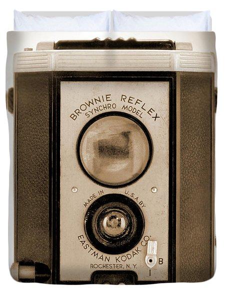 Brownie Reflex Duvet Cover by Mike McGlothlen