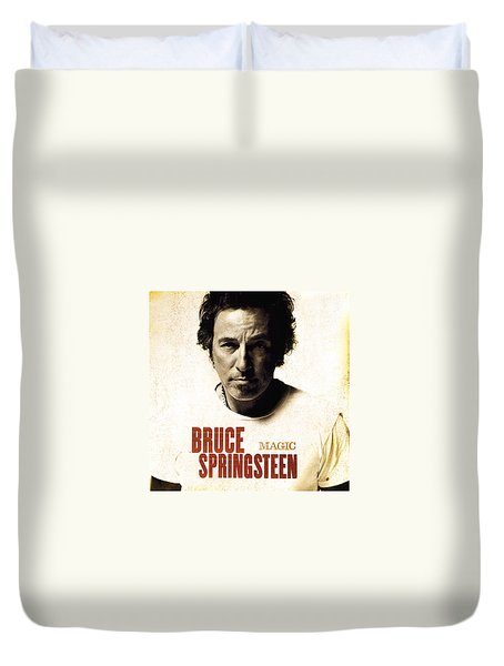 Duvet Cover featuring the photograph Bruce by Bruce