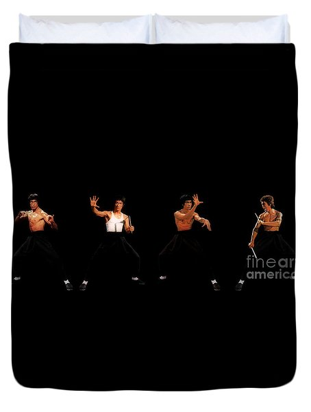Bruce Lee Duvet Cover