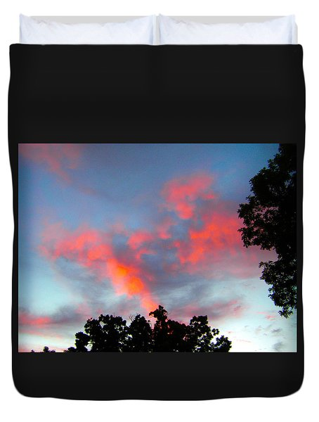 Duvet Cover featuring the photograph Brush Strokes by Zafer Gurel