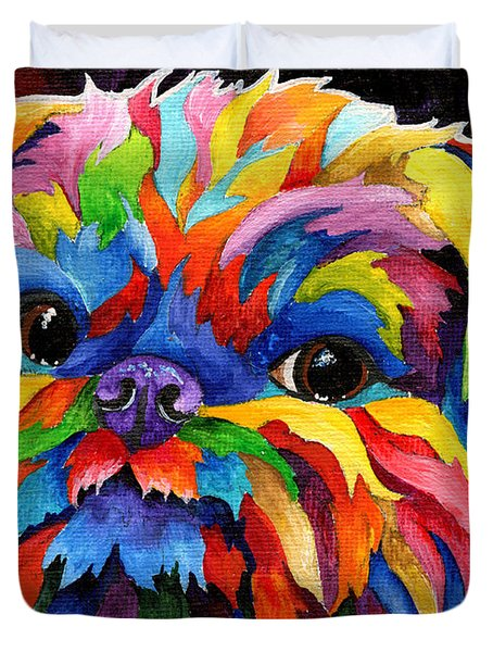 Brussels Griffon Duvet Cover