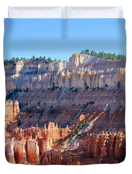 Duvet Cover featuring the photograph Bryce Amphitheater by Jemmy Archer