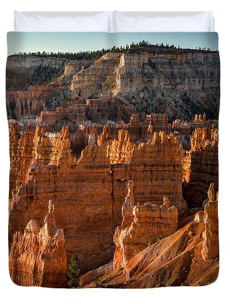 Bryce Canyon II Duvet Cover by Jeff Burton