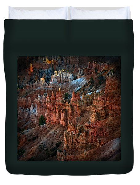 Bryce Point Bryce Canyon Utah Duvet Cover