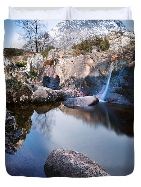 Buachaille Etive Mor Scotland Uk Duvet Cover