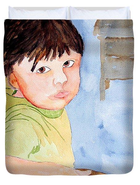 Bubba At School Duvet Cover