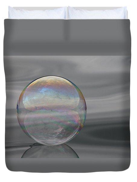 Bubble Simplicity Duvet Cover