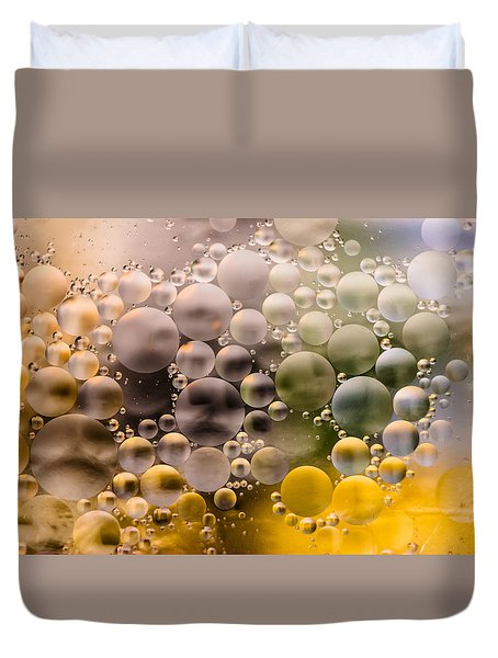 Bubble Face Duvet Cover