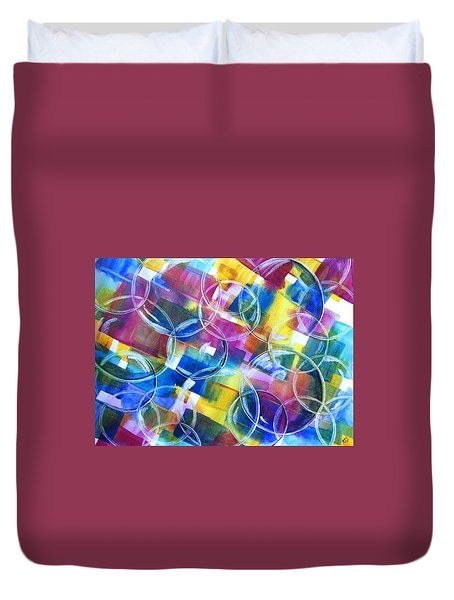 Bubble Fun Duvet Cover