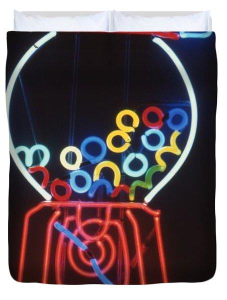 Bubblegum Machine Duvet Cover by Pacifico Palumbo