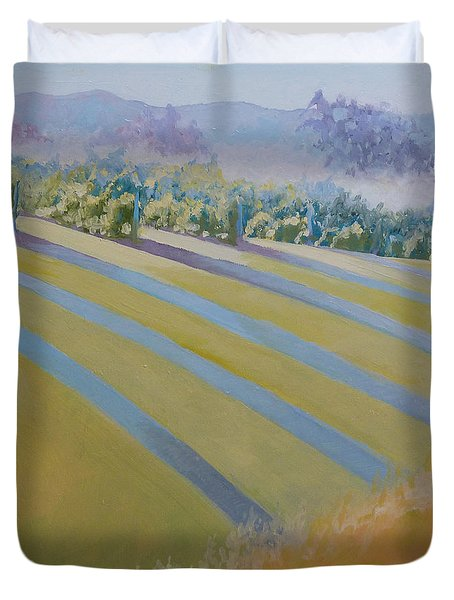 Buck Mountain Vineyards No.2 Duvet Cover