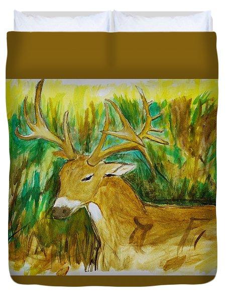 Buck Of A Lifetime Duvet Cover