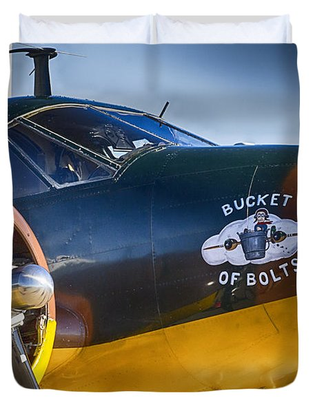 Bucket Of Bolts Duvet Cover by Douglas Barnard