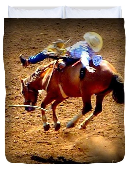 Bucking Broncos Rodeo Time Duvet Cover