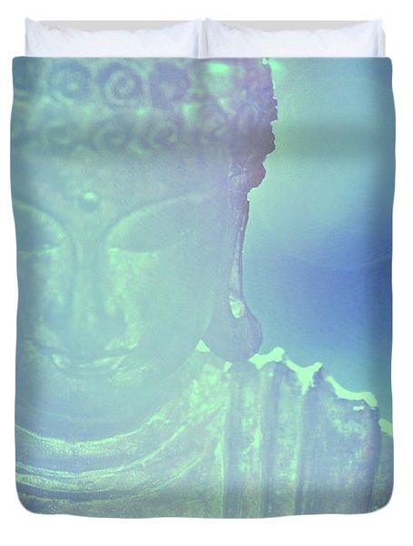 Buddah Bokeh Duvet Cover
