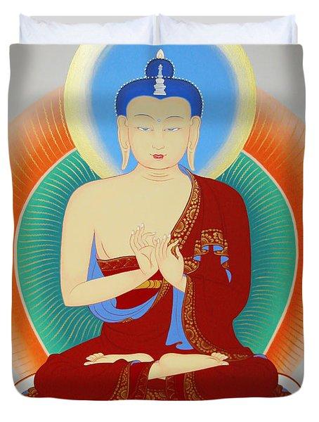Buddha Maitreya Duvet Cover