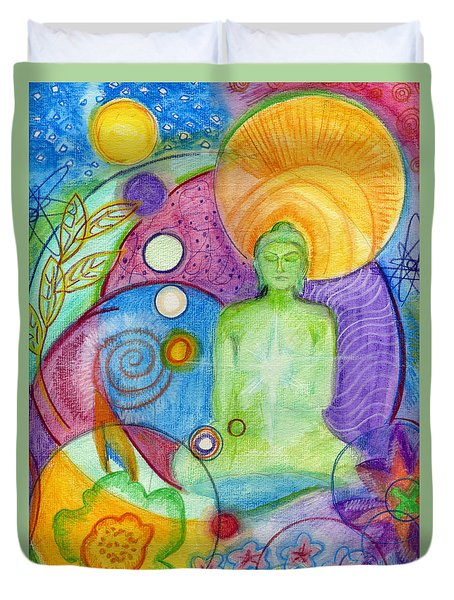 Buddha Of Infinite Possibilities Duvet Cover