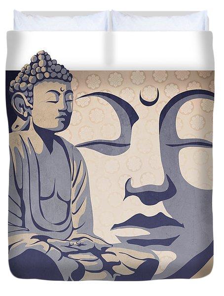 Buddha Duvet Cover by Sassan Filsoof