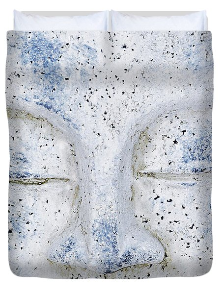 Buddha Statue  Duvet Cover by Tommytechno Sweden