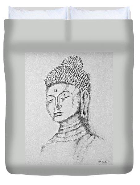 Buddha Study Duvet Cover