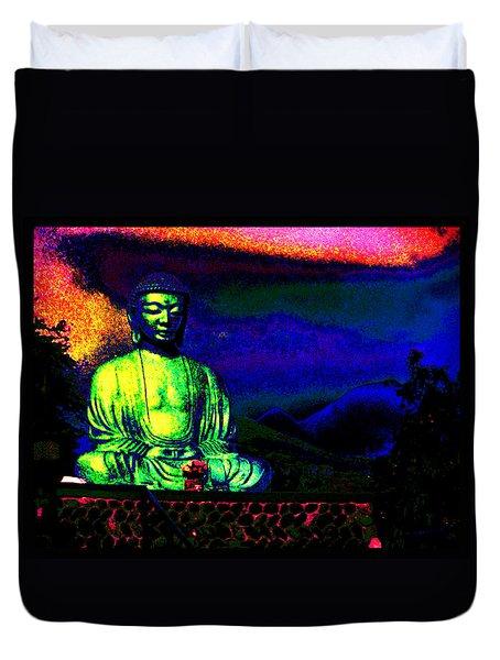 Buddha Duvet Cover by Susanne Still