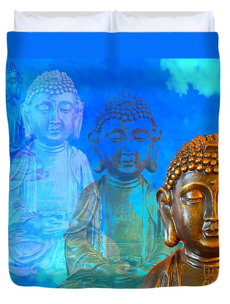 Buddha's Thoughts Duvet Cover