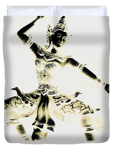 Buddhist Dancer Duvet Cover
