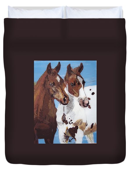 Buddies Duvet Cover