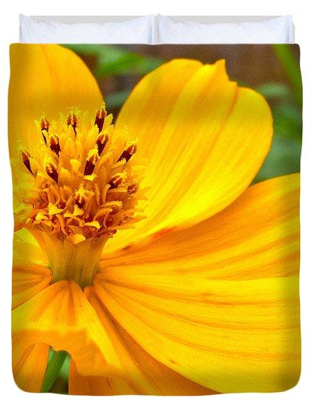 Budding Bouquet Duvet Cover