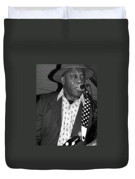 Buddy Guy Sings The Blues Duvet Cover