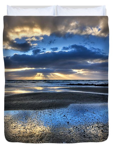 Bue Sky Reflections Duvet Cover
