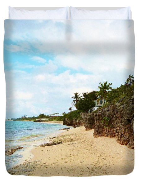 Duvet Cover featuring the photograph Buena Vista by Amar Sheow