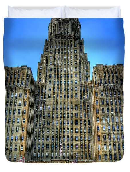 Buffalo City Hall Duvet Cover