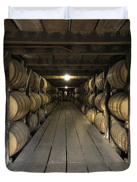 Buffalo Trace Rick House - D008610sq Duvet Cover by Daniel Dempster
