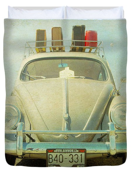 Bug On A Trip Duvet Cover