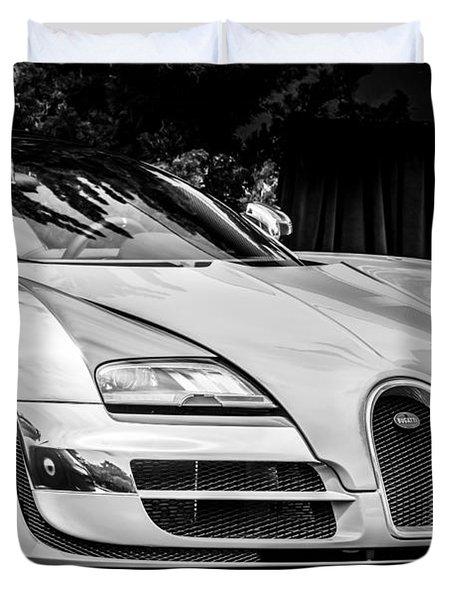 Bugatti Legend - Veyron Special Edition -0844bw Duvet Cover