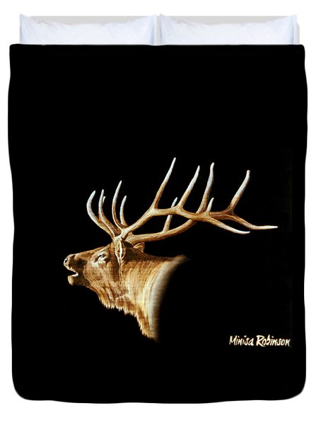 Bugle Duvet Cover by Minisa Robinson