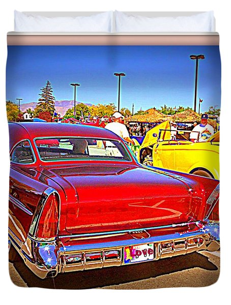Buick Classic Duvet Cover by Bobbee Rickard