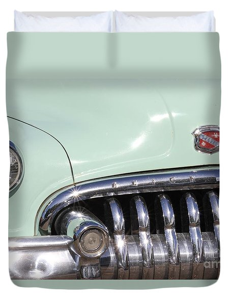 Duvet Cover featuring the photograph Buick El Dorado Vintage by The Art of Alice Terrill
