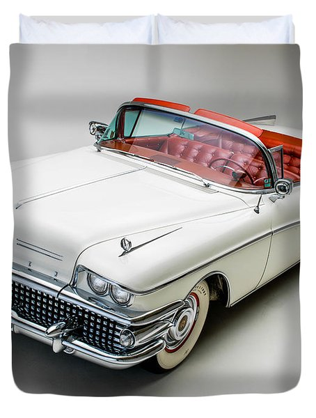 Buick Limited Convertible 1958 Duvet Cover