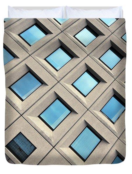 Building Of Windows Duvet Cover