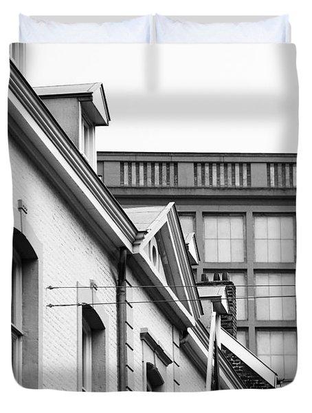 Buildings In Maastricht Duvet Cover by Nick  Biemans
