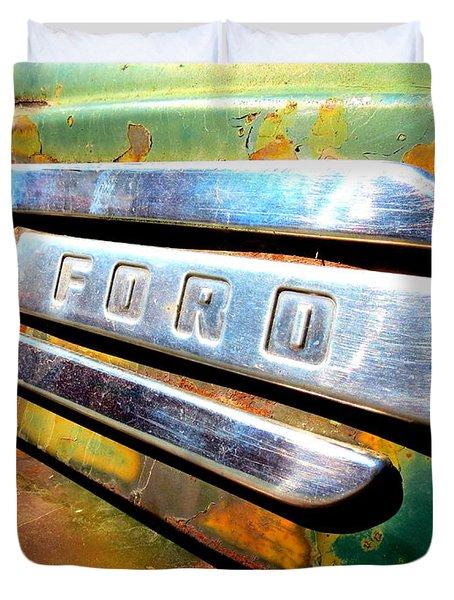 Built Ford Tough Duvet Cover