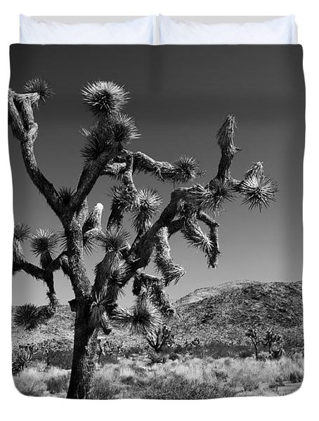 Bullet The Blue Sky - Joshua Tree N.p Duvet Cover by Henk Meijer Photography