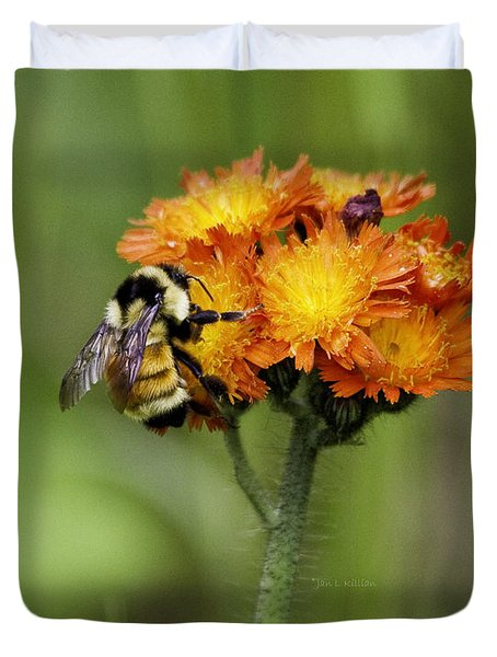 Bumble And Hawk Duvet Cover